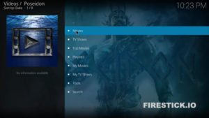How to install Poseidon for Kodi for Firestick and Fire TV