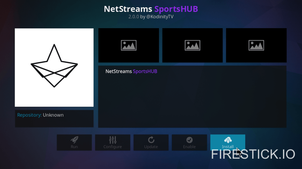 How To Install Netstreams Sportshub Add On For Fire Stick And Fire Tv
